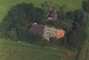 Luchtfoto Huisje de Kleine Oele